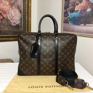 Louis Vuitton Business/Messenger Bag 💼 Black